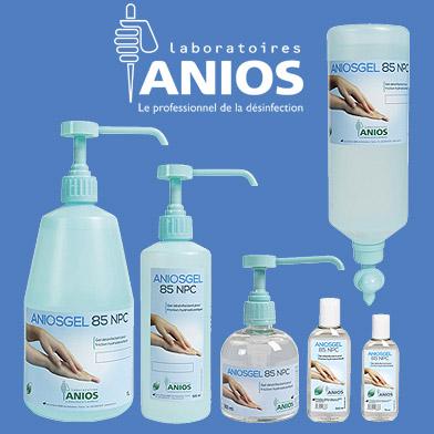 vente de gel hydroalcoolique aniosgel 85 npc
